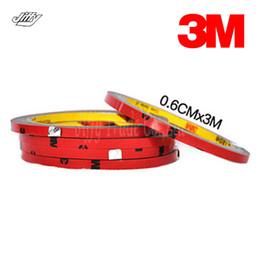 Bandes en mousse de 3 m en Ligne-Bande acrylique 6MM d'attachement de double de mousse acrylique automatique de 3M