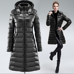 Wholesale Womens White Winter Parka - 2016 Winter Style Best Choice Down Coats Femme Winter Coats Hooded Coats Fashion Outdoor Womens AR Parkas Coats Hot Sale