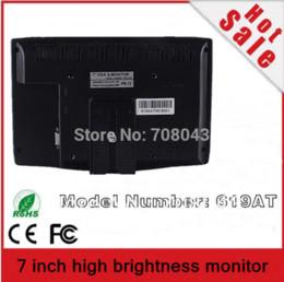 Wholesale Touch Vga Led - Lilliput 7 inch LED Backlight HDMI Monitor Touch Screen With VGA AV1 AV2 Input Touch Screen Panels