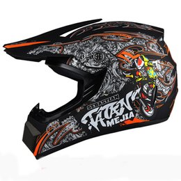 Wholesale Dot Racing Helmets - New arrive casco Capacetes mens motorcycle helmet DOT approved motocross Helmet ATV dirt bike racing capacete motorcycle