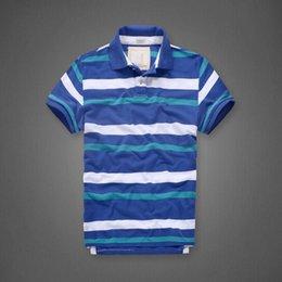 Wholesale Men S Polo Tshirt - Men Brand Summer stripe Shortsleeve Polo Tshirt High Quality Full Cotton Letter Top Tshirt Men Clothes embroidery logo 8030