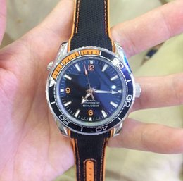 Wholesale Professional Diving Watch - 2017 high-quality automatic machine Watch Men Chronometer Master 600m Co Axial Swiss Watches Men Dive Sport Date Professional 007 Wristwatch