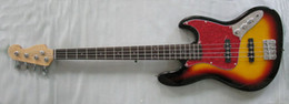 Wholesale Body Jazz Bass - Free shipping brand new electric jazz bass guitar with 21 fret in sunrise color