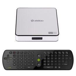 Wholesale Tv Box X6 - ZIDOO X6 Pro Android 5.1 TV Box RK3368 Octa Core Cortex-A53 2G 16G Dual WIFI HDMI 4K*2K KOD 3D