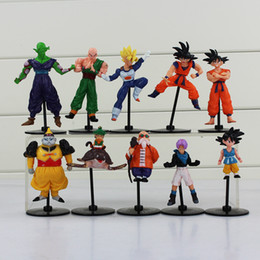 Wholesale Master Roshi Figure - Dragon Ball Z Gohu Master Roshi Piccolo Tenshinhan Gohan Trunks PVC Figure Toys for kids toy free shipping EMS