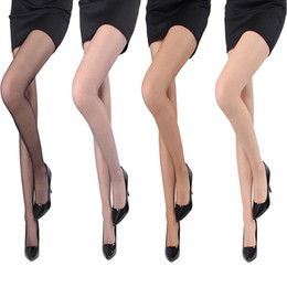 Wholesale Sexy Toes Tights - Wholesale-Top Sale Strong Breathability Tights Pantyhose Sexy Fashion Core Silk Women's Stocking Open Toes Stocking Tight Pantyhose