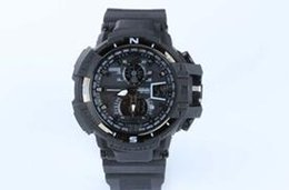 Wholesale Wholesale Watch Belts - 5PCS LOT GA1100 relogio men's sports watches, LED chronograph wristwatch, military watch, digital watch, good gift for men & boy, dropship