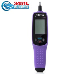 Wholesale Brake Fluid Tester - Wholesale-2016 Original 3451L Jiaxun brake fluid tester digital brake fluid inspection tester tool with LED lights free shipping