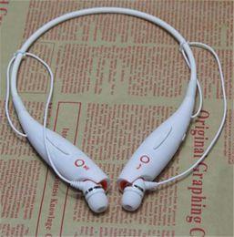 Wholesale Neck Headphones - Wireless Bluetooth Sport Stereo Headset Headphone Earphone Smartphone Hot Sale wity MIC neck hook earphone 1pc up