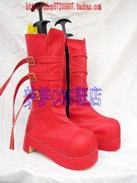 Wholesale Perona One Piece Cosplay - Wholesale-One Piece Perona Cosplay Boots shoes Yellow light #MM178