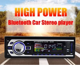 Wholesale Sd Car Radio Din - Bluetooth Car Stereo FM Radio MP3 Audio Player 5V Charger USB SD AUX FLAC Car Electronics Subwoofer In-Dash 1 DIN WMAID3