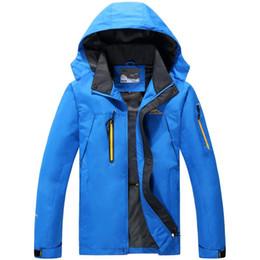 Wholesale 8xl Outdoor Jackets - Christmas gift for 8XL 7XL 6XL 5XL ourdoor Jacket Men Thin Waterproof Windproof Men'S Outdoor Jacket Brand Breathable Softshell Jacket Men