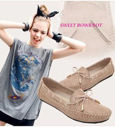Wholesale Summer Party Dresses Design Casual - Sweet Candy Colors Dress Shoes Ballet Flats Ladies Handwork Bowknot Design Round Stylish Women Toe Flat Summer Autumn Casual Flat Shoes BZ