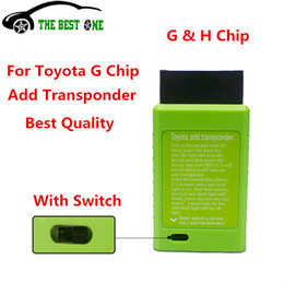 Wholesale G Toyota Key - Wholesale-2016 For Toyota G And For Toyota H Chip Vehicle OBD Remote Key Programmer The Best Auto Key Programmer With Excellent Quality