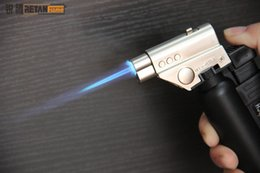 Wholesale Torch For Gas - Jet Butane Torch Lighters Flame Gun for heat the glass nail or titanium nail