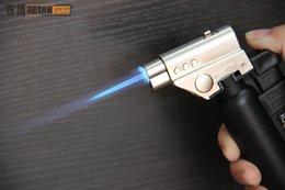Wholesale Gun Butane Torches - Jet Butane Torch Lighters Flame Gun for heat the glass nail or titanium nail