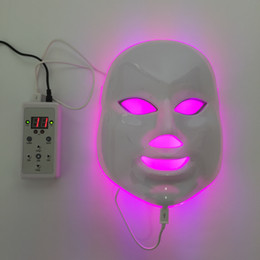 Wholesale Home Led Light Therapy Machine - Home use acne remove LED PDT photodynamic therapy machine beauty light face mask