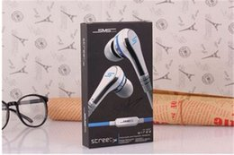 Wholesale Best Mic Headset - 2016 Best Selling SMS Audio 50 cent In-Ear headphones Mini 50 cent Headset with mic and earphone STREET by 50 Cent earbud