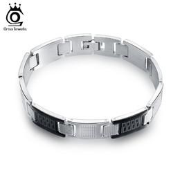 Wholesale Wholesale Black Unique Design - 2016 New Unique Design Black Stainless Steel Bracelet Personality Men Bracelet Male Bangles Best Friends Gift GTB41
