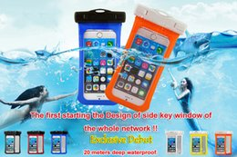 Wholesale Grass Wallets - PVC Plastic Waterproof Bag Universal Phone Bag Pouch Water Resistant Phone Protective Bag for Diving Swimming for Smartphone