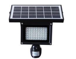 Wholesale Pir Cctv - Solar Lamp 720P Hidden DVR Camera Card 40pcs LED Floodlight PIR Motion Detection Recording Video HD CCTV Security