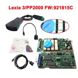 Wholesale Diagbox Citroen - New Lexia 3(Firmware 921815C) 2015 Top selling lexia3 Diagnostic Tool pp2000 lexia 3,lexia-3 diagbox 7.76 software Free shipping