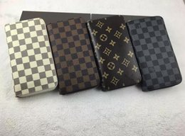 Wholesale Hot Womens Photo - Wholesale and retail !!! Hot sell !!! mens and womens zipper wallets purse card Holders ( 4 color for pick)