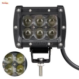 Wholesale Lens For Cree - Wholesale The Newest 200PCS 4 Inch Cree 18W LED Tuning Light 5D Lens For Offroad 4*4 SUV Jeep ATV Tractor 12V 24V