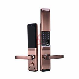 Wholesale Door Password - New Arrival High Quality FCL6 fingerprint lock Fingerprint password electronic lock Home Security Door Lock