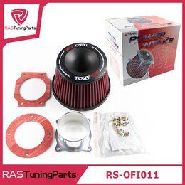 Wholesale Mushroom Air Intake - APEXI Performance Mushroom Head Universal Intake Air Filter 75mm Dual Funnel Adapter
