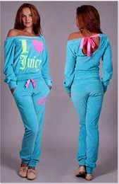 Wholesale Velour Jogging Suits Women - New fashion 2016 free shipping spring autumn Ladies running sets women's velvet tracksuits sports suits female velour letter printed jogging