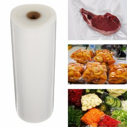 Vakuum lebensmittel taschen rollen online-Eco Friendly Home Garten Ausgezeichnete Qualität Vacuum Sealing Rolltasche Lagerung Lebensmittel Saver Küche Kunststoff Heat Seal Taschen