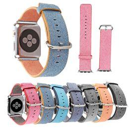 Banda de relógio de nylon on-line-New Sports Royal Woven Pulseira de Nylon Pulseira para Apple Watch Sport Estilo 38 milímetros 42 milímetros