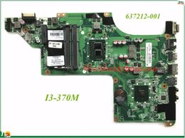 Wholesale Motherboard For Hp I3 - High Quality MB 637212-001 For HP DV6 DV6-3000 Laptop Motherboard DALX6HMB6C0 I3-370M DDR3 100% Tested&Testing Video Support