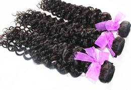 Wholesale Indian Jerry Curl Hair Extension - wholesale 8A human hair weaves Brazilian Malaysian Indian Peruvian unprocessed hair extension jerry curl 3 bundles each lot