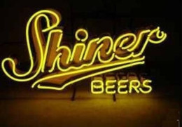 Wholesale Rare Beer Sign - Brand New Rare SHINER Glass Neon Sign Beer light