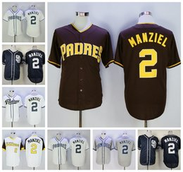 2017 johnny manziel jerseys 2017 Johnny Manziel Maillots San Diego Padres Jersey Maillot de baseball gris blanc bleu Flexbase Cool Base abordable johnny manziel jerseys