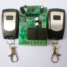 Дистанционная система онлайн-2pcs беспроводное дистанционное реле RF Control Switch System 2 CH приемник 433 МГц DC24V