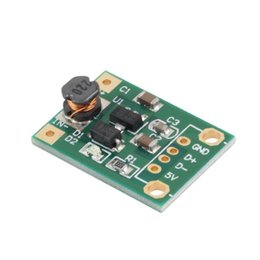 Wholesale Step Up Boost Converter - Wholesale-1Pcs DC-DC Boost Converter Step Up Module 1-5V to 5V 500mA Power Module Newest