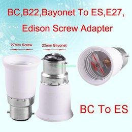 Wholesale Socket Light Convertor - EB3421 B22 TO E27 FEMALE LIGHT CONVERTOR SOCKET BULB ADAPTER LED HALOGEN HOLDER BASE
