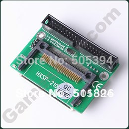Wholesale Ide Flash Adapter - DUAL CF Compact Flash to 40 Pin IDE Adapter #9670