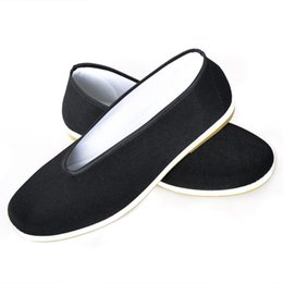 Wholesale Cheapest Rubber Flooring - Free shipping classic Old Beijing shoes youth In the elderly black Round mouth Flat shoes Driving shoes The cheapest shoes