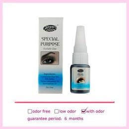 Wholesale Eyelash Extension Glue Professional Black - 15ml Black Professional Eyelash Extension Long Lasting Eyelashes Glue With Odor