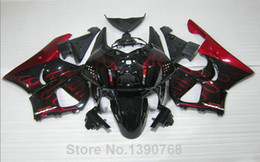 Wholesale 919 Fairing - 3 Free gifts New ABS motorcycle Fairing Kit For HONDA CBR900RR 919 1998 1999 CBR919RR 98 99 919 CBR919 Bodywork set black red flame