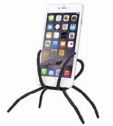 Araña de teléfono celular online-10 UNIDS Universal Spider Teléfono Móvil Titular Para Iphone 6 Más Stent Para Samsung S6 Edge S5 Soporte Del Coche Soporte Soporte de Teléfono Celular