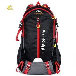 Wholesale Mountaineering Rucksack - Free Knight 40L Large Capacity High-quality Nylon Water Resistant Backpack Rucksack for Mountaineering Camping Hiking Hot +B