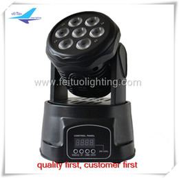 Wholesale Moving Head Light 15w - 4pcs lot 7x15w minir led wash light rgbwa led moving head 15w