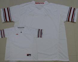 Wholesale 1917 Baseball - 2017 Ohio State Buckeyes Braxton Miller jerseys white black red blackout 1917 throwback portrait numbers us flag elite Diamond Quest jerseys