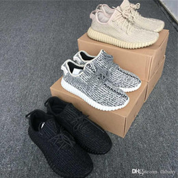 Wholesale Outlet Women Shoes - Factory Outlets Boost 350 Oxford Tan Men Women Shoes AQ2661 Sport Sneaker Moonrock 350 Boost Pirate Black Turtle Doves 350 Sneakers