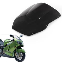Wholesale Zx12r Windscreen - Double Bubble Windscreen Windshield Shield for Kawasaki Ninja ZX12R 2000-2001
